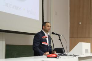 Speaking at University of Leuven, Antwerp, Belgium
